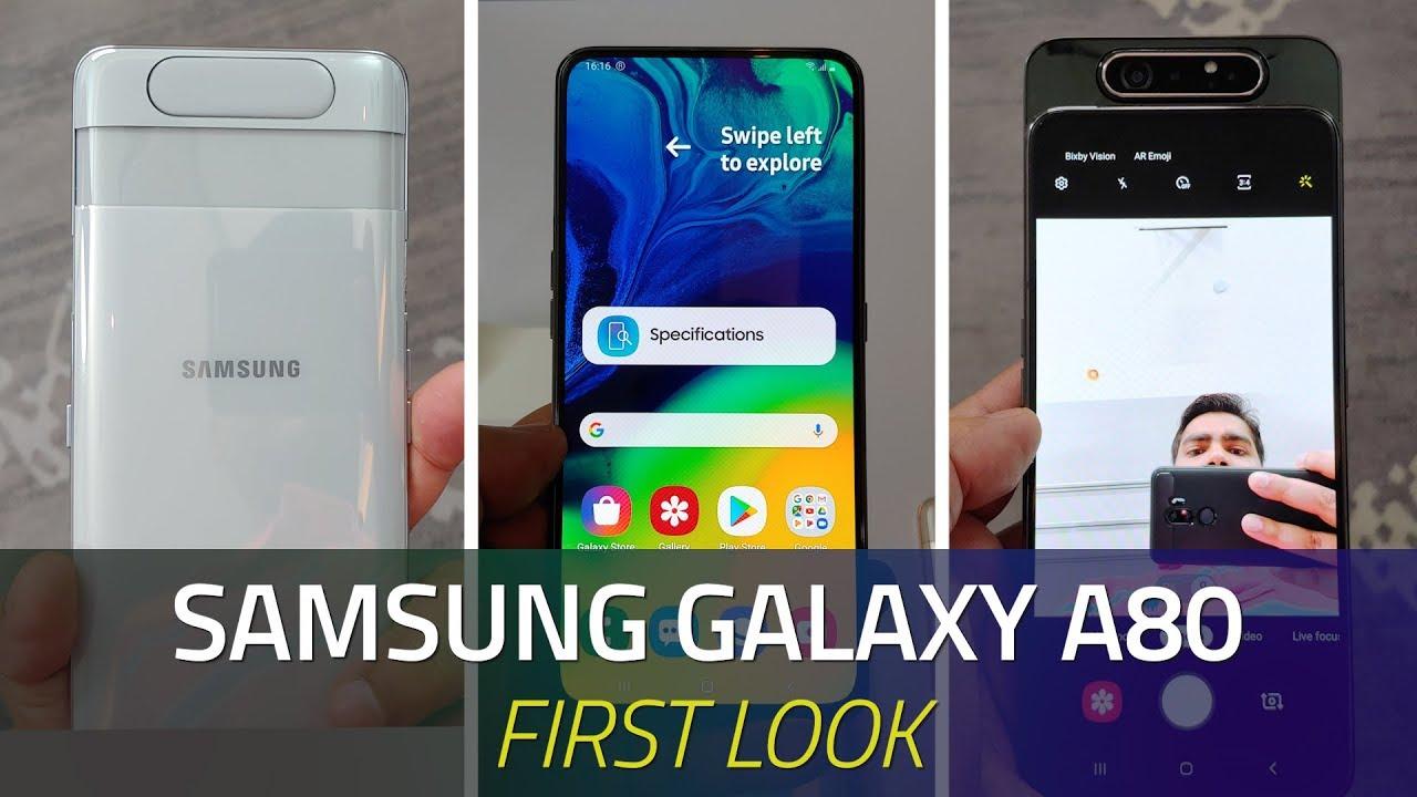 Samsung Galaxy A80 Now on Sale via Amazon, Flipkart, Samsung E-Store