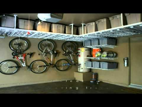 Saferacks Overhead Garage Storage on 4x8 overhead storage, garage storage, costco overhead storage,