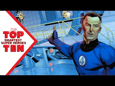 Marvel Top 10 Smartest Super Heroes