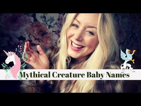 Fantastic Beasts & Mythical Creature Baby Names | Animal Names With A Hipster Twist!  SJ STRUM