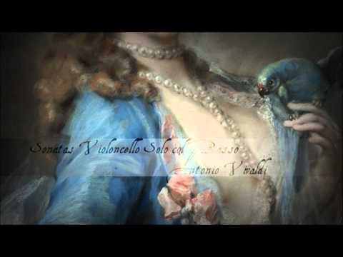 A. Vivaldi - Six sonatas for cello & continuo, Op. 14