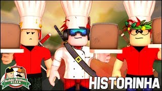 (Story 🎬) WE GAVE A KILLER PIZZA TO THE CHIEF 😱 | Work at a Pizza Place Roblox 🔮🍕