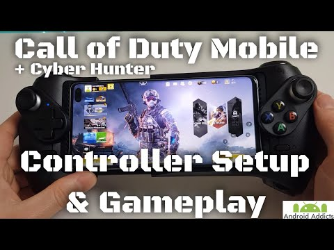 Call Of Duty Mobile Android - Controller Gameplay & Setup Cyber Hunter