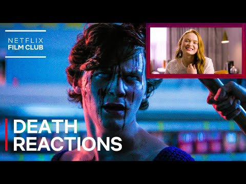 The Cast Of FEAR STREET Reacts To The Best Death Scenes | Netflix