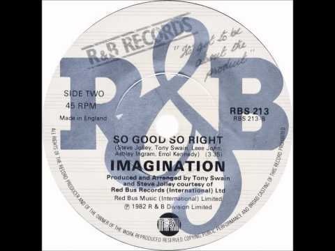 "Imagination - So Good, So Right (Dj ""S"" Bootleg Extended Re-Mix)"