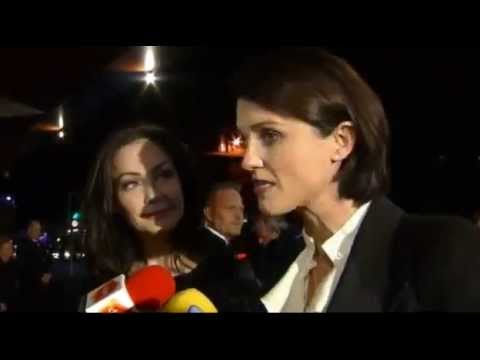 Heather Peace and Anna Skellern at the BAFTA in Scotland