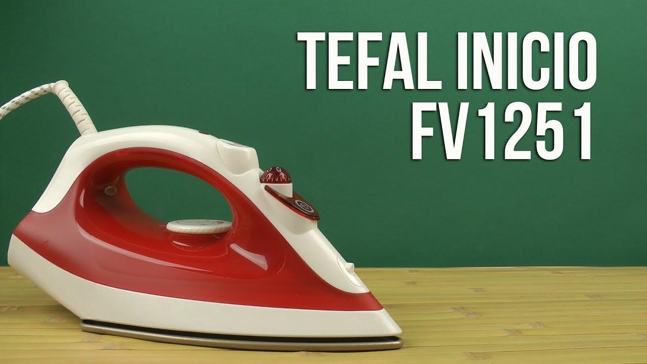 Wonderbaarlijk Распаковка TEFAL Inicio FV1251 - YouTube IM-85