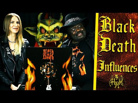 BLACK DEATH front man Siki Spacek talks about his musical influences