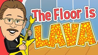 The Floor Is Lava! | Jack Hartmann | Brain Breaks