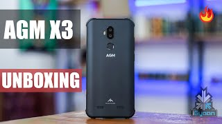 AGM X3 Unboxing : Snapdragon 845 IP68 Rugged Phone