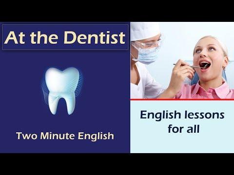 tiếng Anh đi khám răng