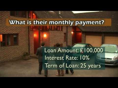 Geometric series: clearing a mortgage debt. METAL film 3.04