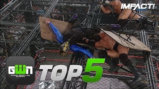 5 Most INSANE Jeff Hardy Dives in IMPACT History | GWN Top 5
