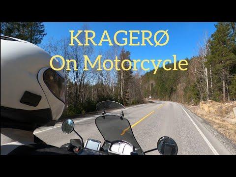 Norway on Transalp 600 - Trip to Kragerø