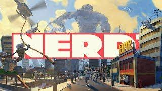 Nerd³ is a Giant VRobot