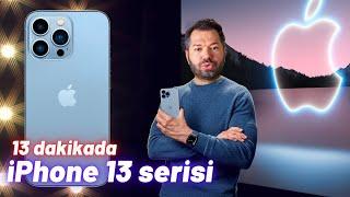 iPhone 13 / 13 Mini ve iPhone 13 Pro / Pro Max fiyatı ve özellikleri