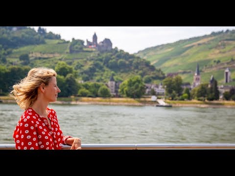 Samantha Brown, AmaMagna's Godmother, cruises along the Rhine and Moselle