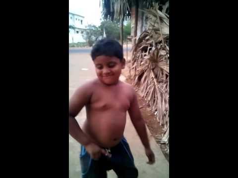 Little dancer in Surya rao peta (rajanagaram)