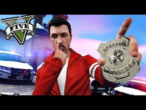 GTA V life - SOMOS POLICÍAS CORRUPTOS XD - Nexxuz
