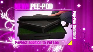 Pee-Pods By Pup-Pee Solutions - www.thepetloo.com