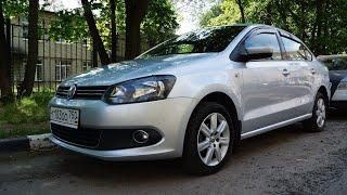 Фольксваген Поло состояние после 80-ти тысяч км, обзор, тест драйв.  Volkswagen Polo...