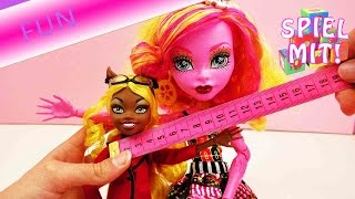 Monster High Vergleich - Claudine Wolf vs. Gooliope Jellington - Monster High Puppen