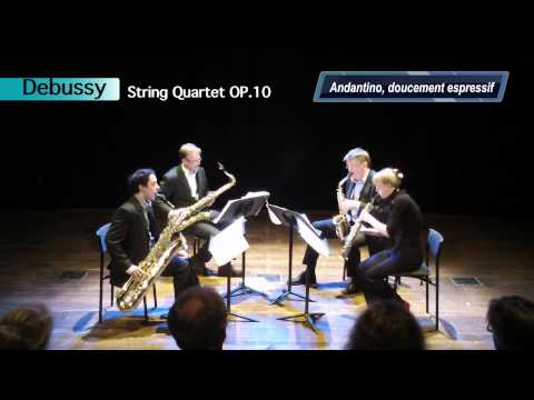Debussy, String Quartet Op.10 in G - Mov.3 Andantino, doucement expressif