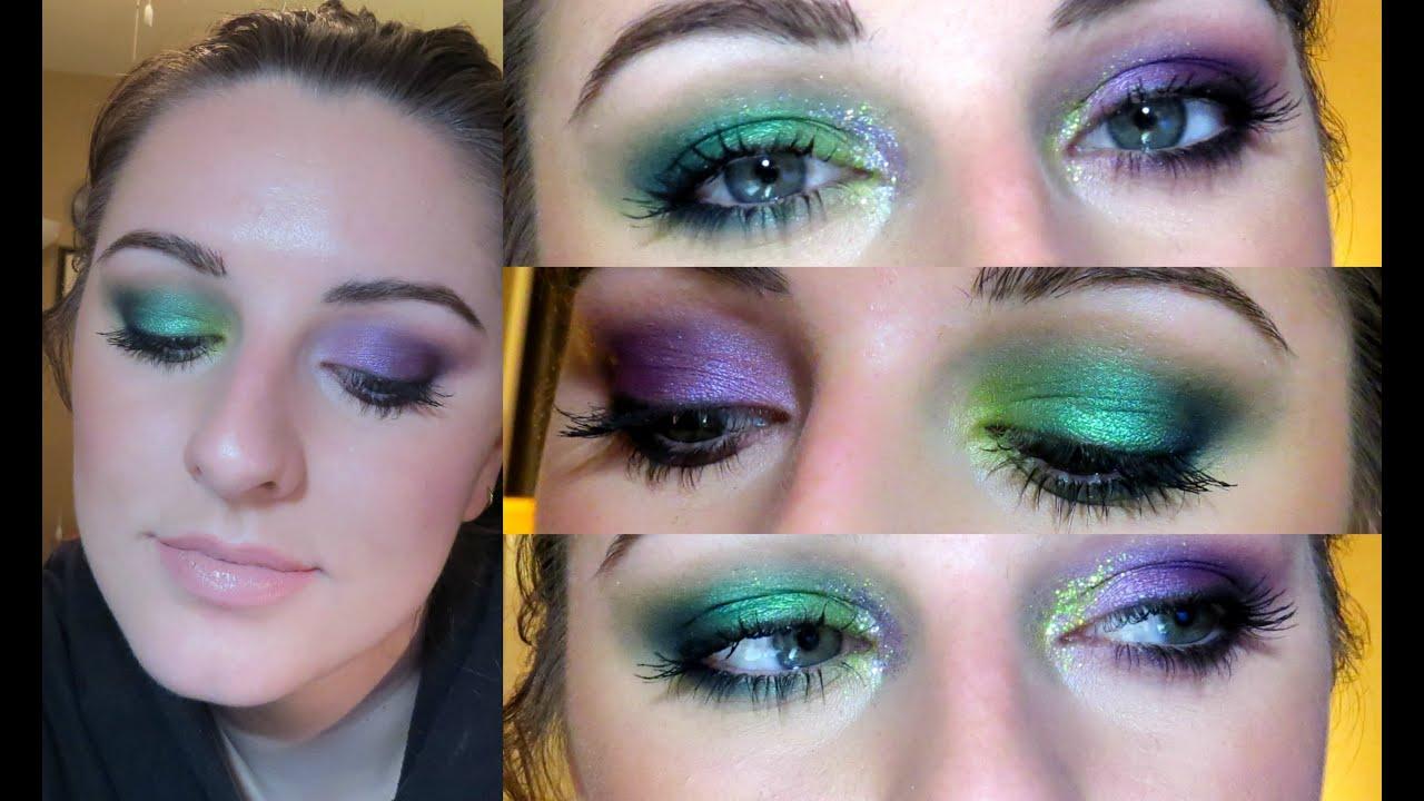 Mardi Gras Makeup Tutorial 2016 Youtube