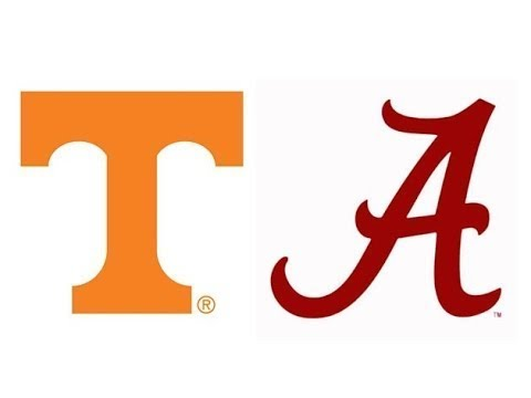 2017 Tennessee at #1 Alabama (Highlights)