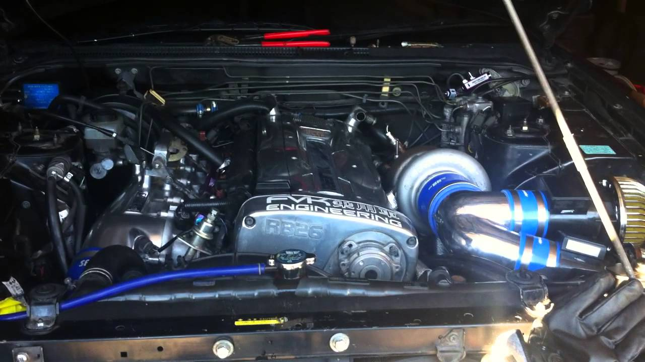 First Startup After The Single Turbo Conversion On My Rb26
