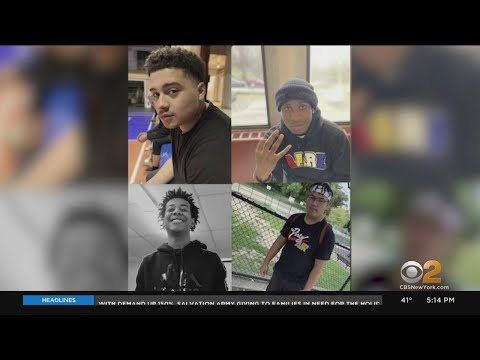 Friends, Family Gather To Remember 4 Teens Killed In Yonkers Car Crash