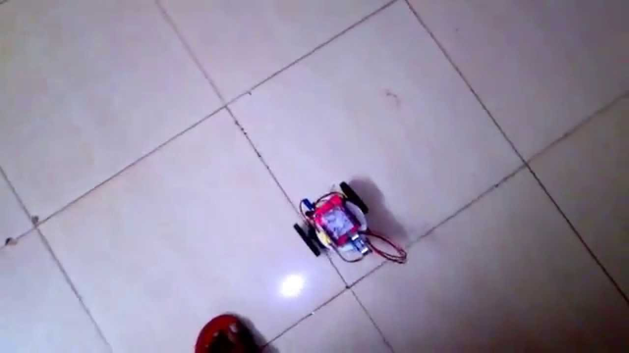 Arduino human following robot youtube