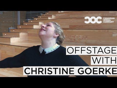 Offstage with Christine Goerke