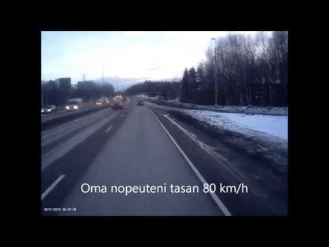 Truck driving in Finland feat. Ahola Transport
