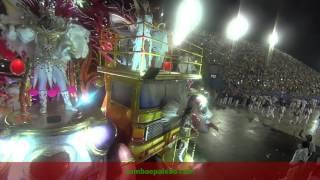 Carnaval 2017: Ivete Sangalo ovacionada pelo público no último carro no desfile da Grande Rio