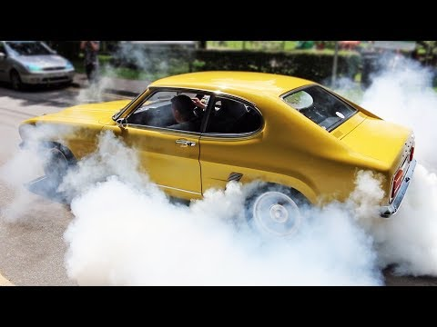 Ford Capri Compilation - Leaving Car Meets