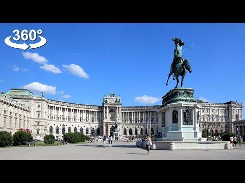 Walking around Hofburg