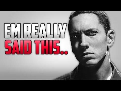 Eminem Roasts Machine Gun Kelly On Stage