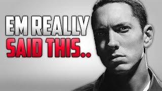 Baixar Eminem Roasts Machine Gun Kelly On Stage