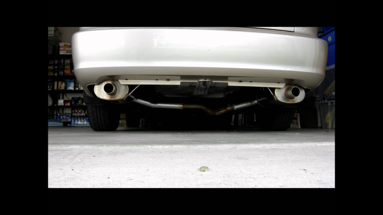 Magnaflow 2000 Honda Accord V6 Youtube