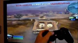 PS2 in 1080i Online with Battlefield 2: Modern Combat (2011)