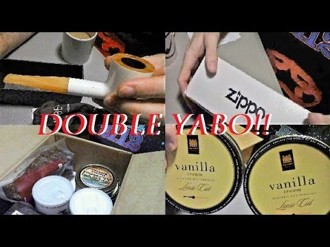 DOUBLE YABO! PIPE TOBACCO & ZIPPO YABO / BIG BEN PIPE / RUSH