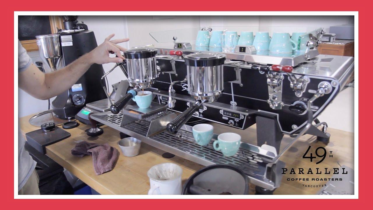 Gail Tastes A Shot Of Freshly Roasted Epic Espresso! - YouTube