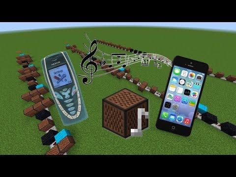 Minecraft: Phone Ringtones With Note Blocks #1