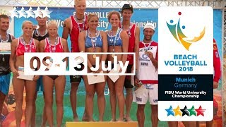 The 2018 WUC Beach Volleyball Champion comes to Munich |Get Stoked Short Promo Video |#UniWorlds