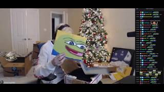 xQc PO Unboxing with Adept + Twitch Chat