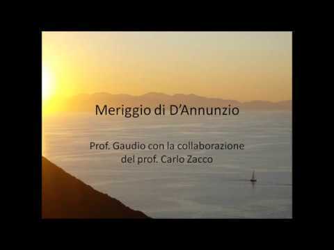 MERIGGIO D ANNUNZIO DOWNLOAD