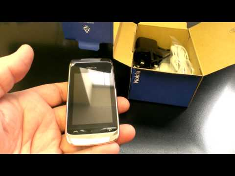 NOKIA ASHA 309 Unboxing Video - Phone in Stock at www.welectronics.com