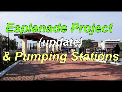 Iloilo City - Esplanade Project (update) & Pumping Stations - 07/23/2019 - HD