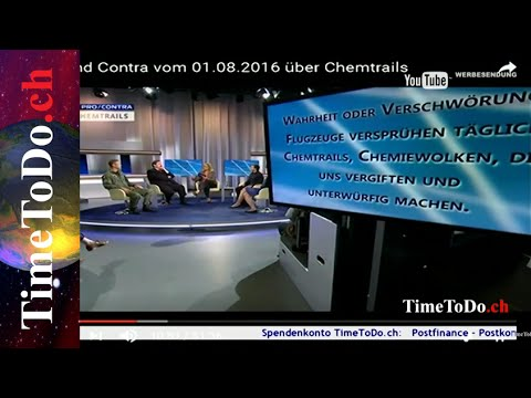 Verschwörungstheorie oder Praxis? TimeToDo.ch 24.08.2016
